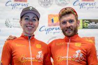 Annika Langvad et Florian Vogel vainqueurs de la manche d'Afxentia