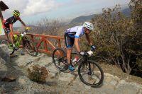 Fabian Giger sur les pistes de Chypre