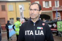 Le sélectionneur italien Davide Cassani