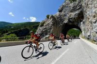 Les BMC emmènent le Critérium du Dauphiné