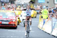 Romain Bardet vainqueur à Pra-Loup