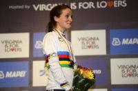 La championne du monde Elizabeth Armitstead