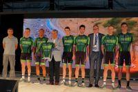 Le Team Europcar pour le Tour de San Luis