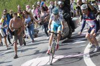 Fabio Aru file vers la victoire d'étape à Cervinia