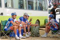 L'équipe FDJ attend le départ
