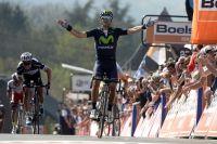 Alejandro Valverde obtient sa troisième victoire sur la Flèche Wallonne