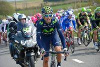 Alejandro Valverde au-dessus du lot sur les Ardennaises
