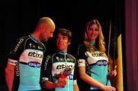 Tom Boonen et Rigoberto Uran