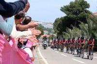 Les coureurs de BMC Racing Team