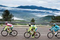 Le Giro rend visite aux Apennins