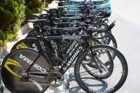 Les vélos de chrono en ordre de bataille