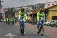 Ivan Basso et Alberto Contador à la tête de l'équipe Tinkoff-Saxo