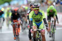 Alberto Contador concède 36 secondes et le maillot rose