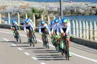 L'équipe Orica-GreenEdge signe le meilleur temps en entrée du Giro