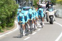 L'équipe Astana de Fabio Aru