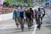 2ème à La Spezia et nouveau Maillot Rose, Simon Clarke se croit aussi vainqueur d'étape