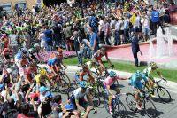 Le peloton du Giro au départ