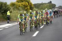 La Tinkoff-Saxo roule pour Alberto Contador