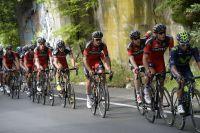 L'équipe BMC Racing Team se met à rouler