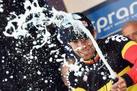 Le champagne pour Jens Debusschere !