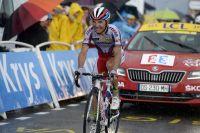 Joaquim Rodriguez remporte sa deuxième victoire d'étape sur le Tour au Plateau de Beille
