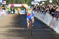Juliette Labous remporte son premier titre de championne de France en cyclo-cross