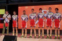 L'équipe Katusha pour le Tour de San Luis