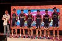 L'équipe Lampre-Merida pour le Tour de San Luis