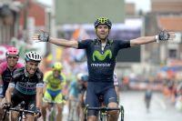 Alejandro Valverde conquiert Liège-Bastogne-Liège sous les traits tirés de Julian Alaphilippe