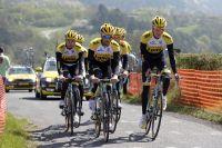 Wilco Kelderman et le Team LottoNL-Jumbo