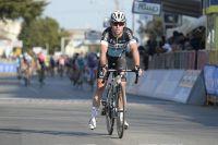Mark Cavendish a dû déchausser en plein sprint