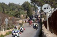Le peloton sur les routes du Challenge de Majorque