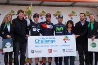 Le podium du Trophée Santanyi