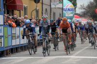Manuel Belletti sprinte vers la victoire
