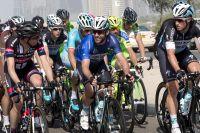 Mark Cavendish tout sourire au coeur du peloton