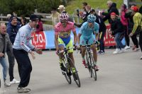 Mikel Landa attaque, Alberto Contador répond