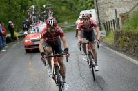 Maxime Monfort et Jurgen Van Den Broeck, les deux leaders de Lotto-Soudal