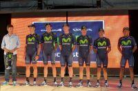 L'équipe Movistar pour le Tour de San Luis