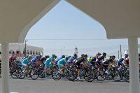 Le peloton dans le Sultanat d'Oman