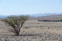 Le peloton traverse Oman