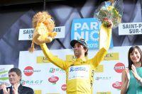 Michael Matthews goûte au maillot jaune de Paris-Nice