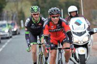 Philippe Gilbert et Florian Vachon à l'attaque