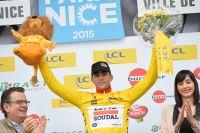 Tony Gallopin retrouve un maillot jaune : celui de Paris-Nice
