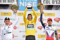 Michal Kwiatkowski, Richie Porte, Simon Spilak : le podium de Paris-Nice