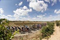 Le peloton de la Vuelta