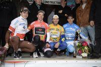 Le podium final de l'Etoile de Bessèges