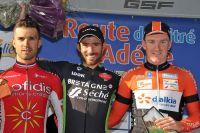 Le podium de la Route Adélie