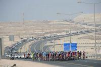Le peloton du Tour du Qatar