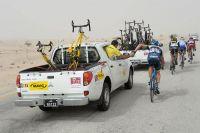 L'assistance Mavic au Tour du Qatar