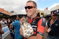 A deux semaines et demie de sa tentative de record de l'Heure, Rohan Dennis garde le sourire